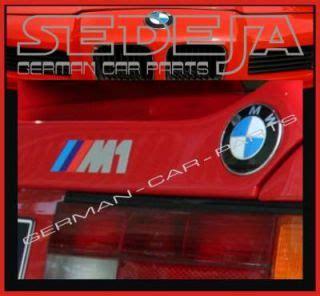 Bmw M1 Aufkleber by Bmw Motorsport Schriftzug Auto Aufkleber Styling Tuning