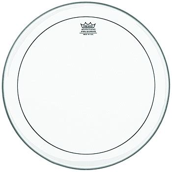 D H 10 Remo Pinstripe Ps 0310 Mp Usa remo clear pinstripe drum heads w crimplock products