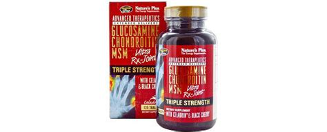 Glucosamin Ultra Rx Natures Plus Isi 120 Untuk Kesehatan Persendian nature s plus strength ultra rx joint