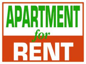 make free for rent signs clipart best