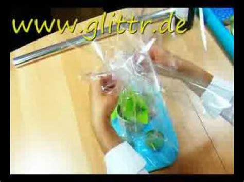 Geschenk Mit Klarsichtfolie Einpacken Geschenke Einpacken Z B Tasse