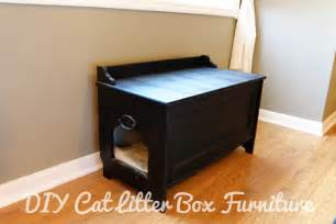 Cat Litter Box Furniture Diy » Home Design 2017