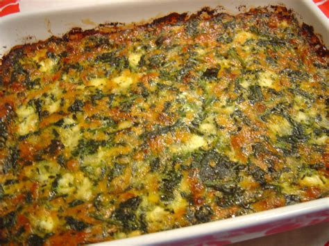 Spinach Cottage Cheese Casserole Recipe by Cottage Cheese Spinach Casserole Recipe