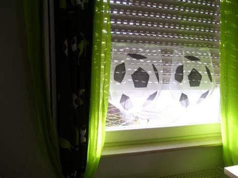 vorhang fussball wohnzimmer kinderzimmer kinderzimmer fu 223 alt