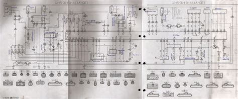 electrical wiring diagrams toyota townace toyota air