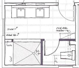 Bathroom Blueprints 17 Best Ideas About Master Bathroom Plans On Pinterest