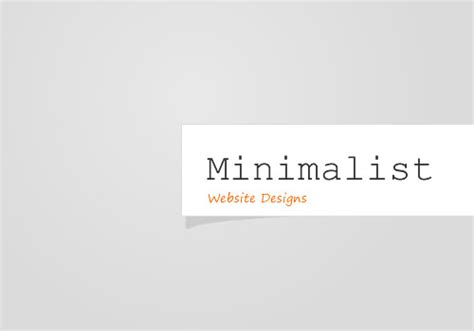 minimalistic web design minimalist website design seo creating sites for people