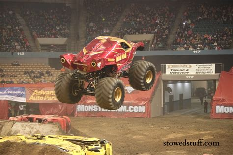monster truck jam videos youtube monster trucks at monster jam stowed stuff