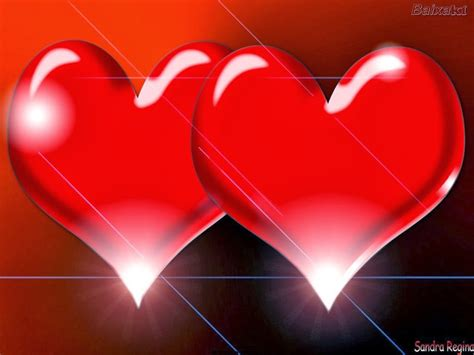 Imagenes De 2 Corazones Unidos | 7 im 225 genes bonitas de amor de fondos de corazones