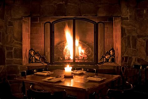 our picks for restaurants with fireplaces new york magazine