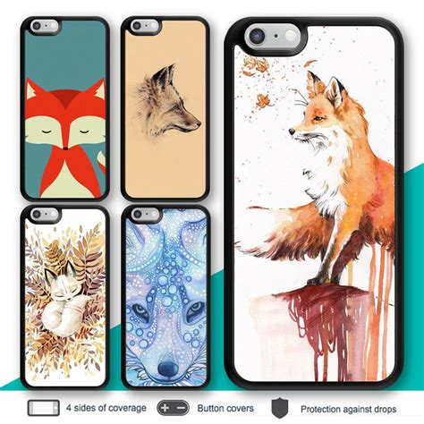 Iphone 5 5s Image Animal Casing Cover Bumper Bagus Murah iphone 7 7 plus 6s 6 fox animal bumper print cover for apple se 5c 5s 4s ebay
