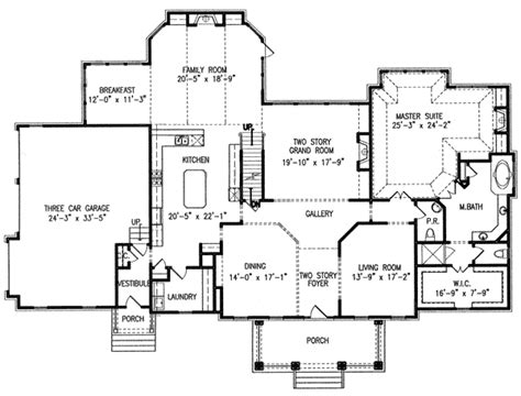 Single Story House Plans With 2 Master Suites | two master suites 15844ge architectural designs