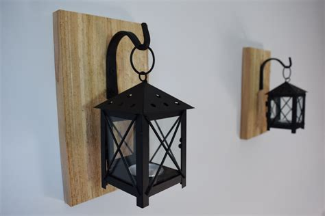 Rustic Lantern Wall Sconce Rustic Candle Lantern Sconces Wall Decor Wall Sconce