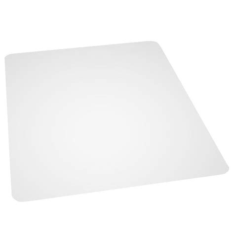 Clear Plastic Chair Mat by Es Robbins Multi Task Clear 46 In X 60 In Hardfloor