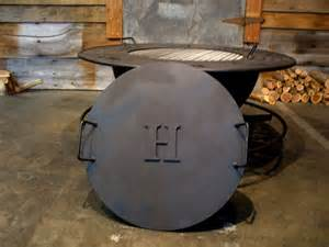 Firepit Lid Metal Pit Covers Create Your Own Personalized Pit With Your Family S Name Your