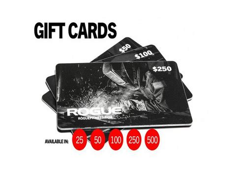 Fitness Gift Cards - rogue fitness gift card best workout plan