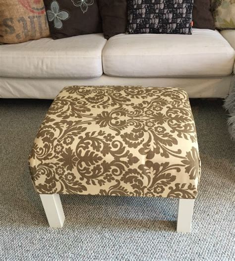 how to make a coffee table ottoman diy ottoman coffee table ikea hack a purdy little house