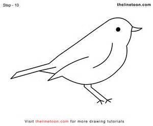 how to draw tweety pie the bird simple step by drawing