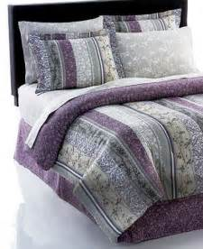 Plum Colored Comforters Plum Norwood Reversible 8 Piece Bedding Ensembles King