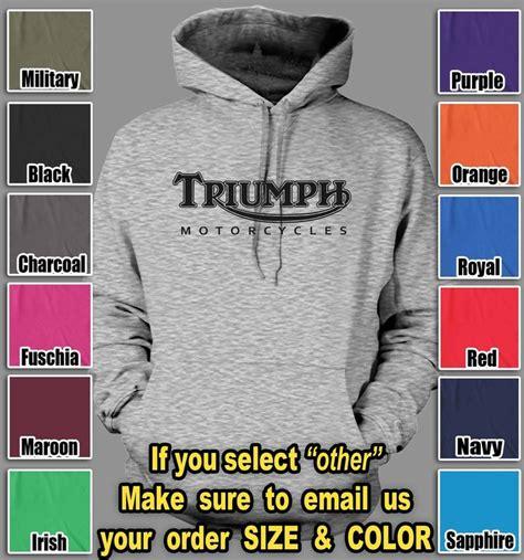Hoodie Jumper Choppers triumph motorcycles shirts motorcycle fan biker motor hoodie sweatshirt sweater 37 85 teesrus