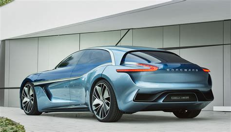 design concept uk borgward isabella unveiled as all electric four door
