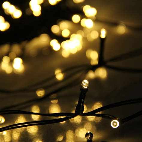Solar String Patio Lights 72ft 200 Led Solar Powered String Lights Garden Outdoor Lighting Ebay