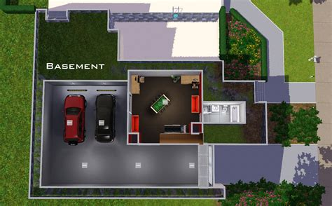 New Home Building Plans by Mod The Sims Underground Garage 6 Stone And Stucco Blvd