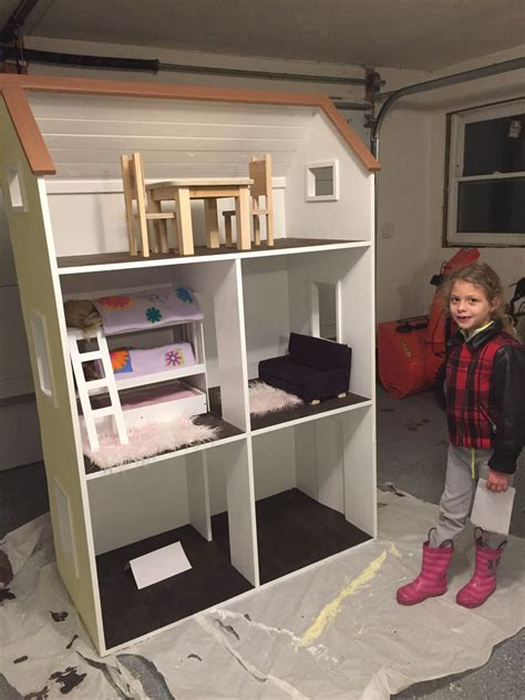ana white american girl dream dollhouse diy projects