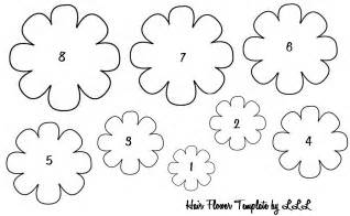 Free Flower Templates To Cut Out by The Lovely Of Lindsay Baby Hair Flowers