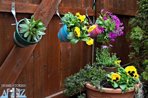 Do It Yourself Planters garden do it yourself fence planter home stories