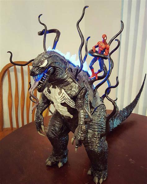 figure custom custom venomzilla figure by symbiote x on deviantart