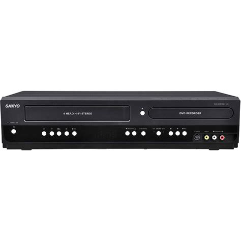 best vcr player sanyo fwzv475f combination vhs dvd cd player vhs to