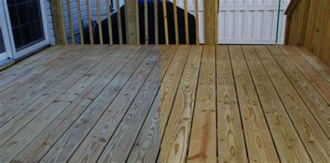 Preparing New Pressure Treated Wood Deck To Take A Finish