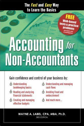 accounting reference books accounting for non accountants is the must guide for