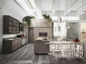 Loft Kitchen Design loft cuisine avec 238 lot collection sistema by snaidero design