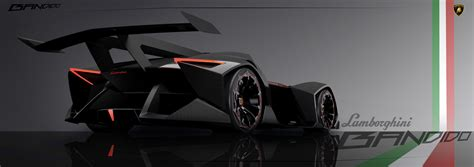 4 Seater Lamborghini This Electric Single Seater Concept Is So Outrageous