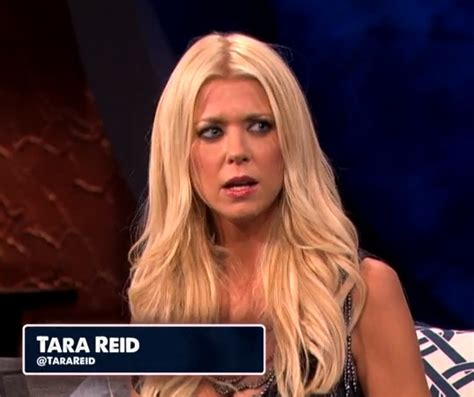 Tara Reids Cannot Contain by Tara Said What Check Out Tara S Blond Moment On