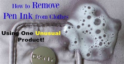Remove Pen Ink From by How To Remove Pen Ink From Clothes Using One