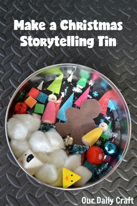 a christmas storytelling tin and make your mark our