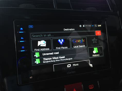 Clarion Ax 1 Headunit Android Din Android Clarion clarion malaysia debuts its new ax1 android based in car unit introductory price of rm1