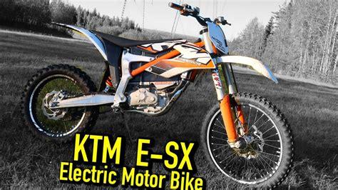 Ktm E Motorrad by Ktm Sx E Motorrad Bild Idee
