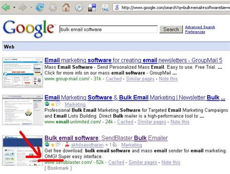 Email Searching Software Bulk Email Software Search Results