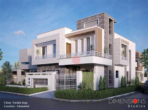 house 2 home design studio contemporary house by dimensions studio 10 marla house