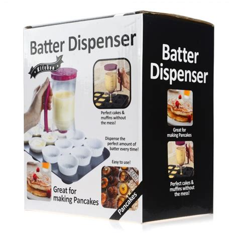 Manual Pancake Machine Batter Mix Dispenser Measuring Label Olb718 batter dispenser pancake batter dispenser batter