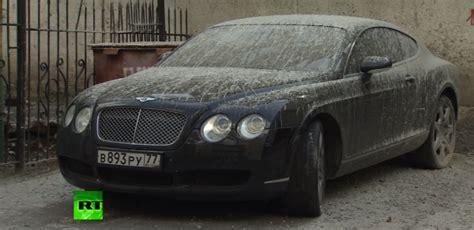 Epic Vinyl Wraps Car - bentley gets cement wrap in russia
