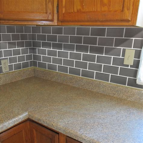 faux kitchen backsplash simple faux tile backsplash cabinet hardware room