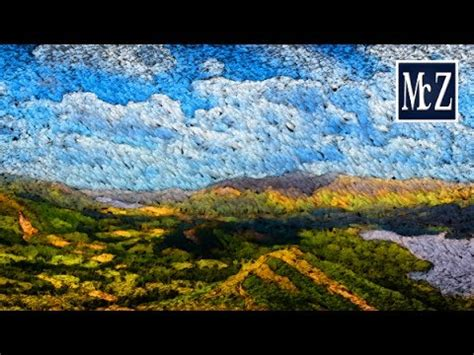 gimp tutorial landscape speed tutorial gimp effetto paesaggio dipinto