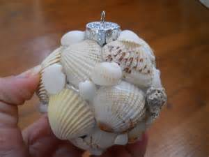 one woman s walking shoes seashell christmas ornament