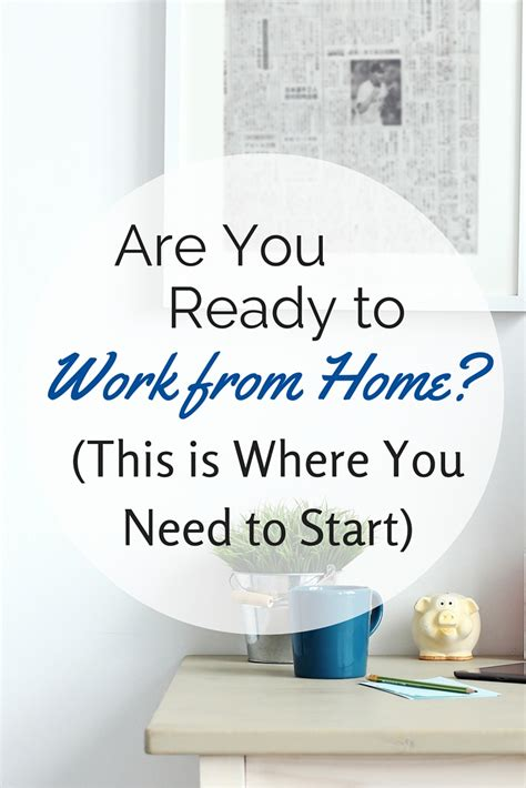 Work From Home - start here