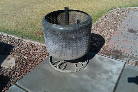 Washing Machine Firepit Washing Machine Tub Pit Firepits Stoves Solar Heating